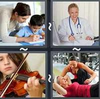 4 Pics 1 Word Practice