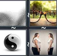 4 Pics 1 Word Contrast