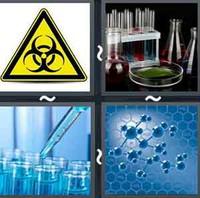 4 Pics 1 Word Chemical