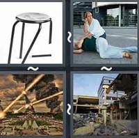 4 Pics 1 Word Collapse
