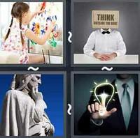 4 Pics 1 Word Creative