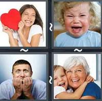 4 Pics 1 Word Emotions