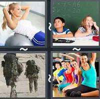 4 Pics 1 Word Exercise