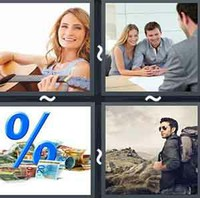 4 Pics 1 Word Interest