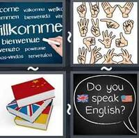 4 Pics 1 Word Language
