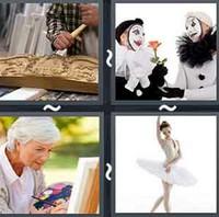4 Pics 1 Word Art