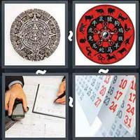 4 Pics 1 Word Calendar