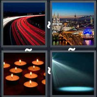 4 Pics 1 Word Lighting