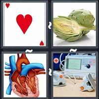 4 Pics 1 Word Levels Heart