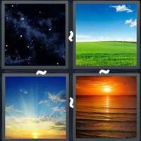4 Pics 1 Word Levels Sky