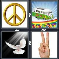 4 Pics 1 Word Levels Peace