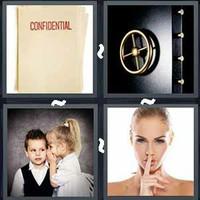 4 Pics 1 Word Levels Secret