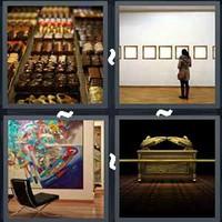 4 Pics 1 Word Levels Exhibit