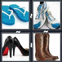 4 Pics 1 Word Levels Shoe