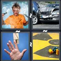 4 Pics 1 Word Levels Accident