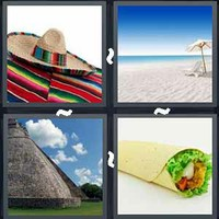 4 Pics 1 Word Levels Mexico