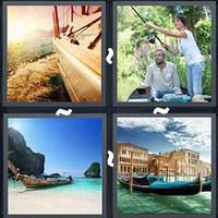 4 Pics 1 Word Levels Boat