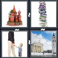 4 Pics 1 Word Levels Tower