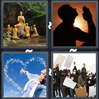 4 Pics 1 Word Devotion