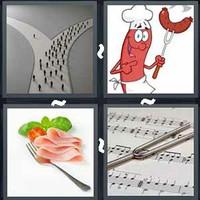 4 Pics 1 Word Levels Fork