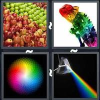 4 Pics 1 Word Levels Spectrum