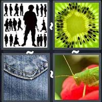 4 Pics 1 Word Detail