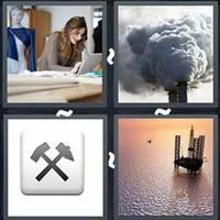 4 Pics 1 Word Industry