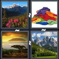 4 Pics 1 Word Mountain