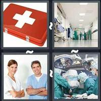4 Pics 1 Word Hospital