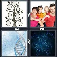 4 Pics 1 Word Genetics