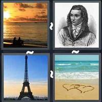 4 Pics 1 Word Romantic