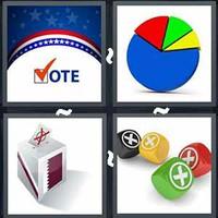 4 Pics 1 Word Election