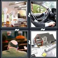 4 Pics 1 Word Interior