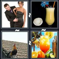 4 Pics 1 Word Cocktail