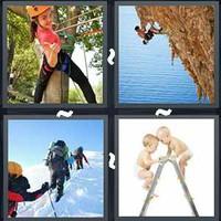 4 Pics 1 Word Climbing