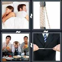 4 Pics 1 Word Tension