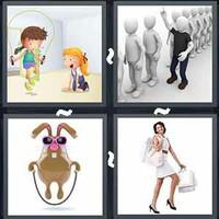 4 Pics 1 Word Skipping