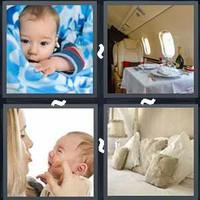 4 Pics 1 Word Comfort