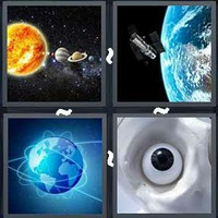 4 Pics 1 Word Levels Orbit