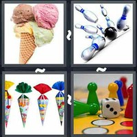 4 Pics 1 Word Levels Cone