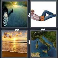 4 Pics 1 Word Levels Coast