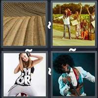 4 Pics 1 Word Levels Groove