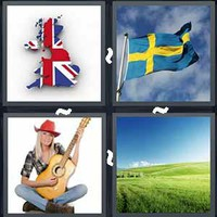 4 Pics 1 Word Levels Country
