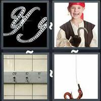4 Pics 1 Word Hook