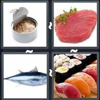 4 Pics 1 Word Tuna