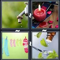 4 Pics 1 Word Drip