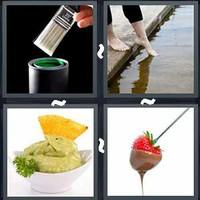 4 Pics 1 Word Dip