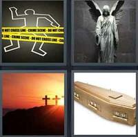 4 Pics 1 Word Dead