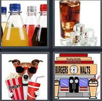 4 Pics 1 Word Soda