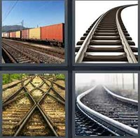 4 Pics 1 Word Levels Railway